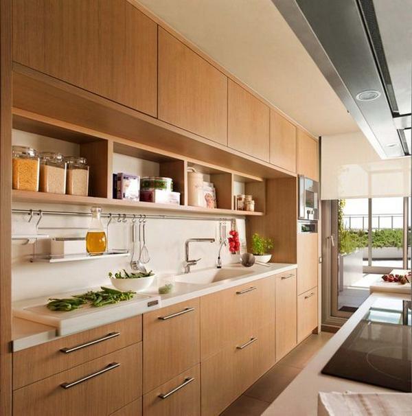кухни из натурального дерева, фото 9
