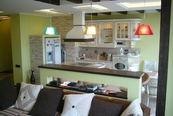 кухня-гостиная, фото 3