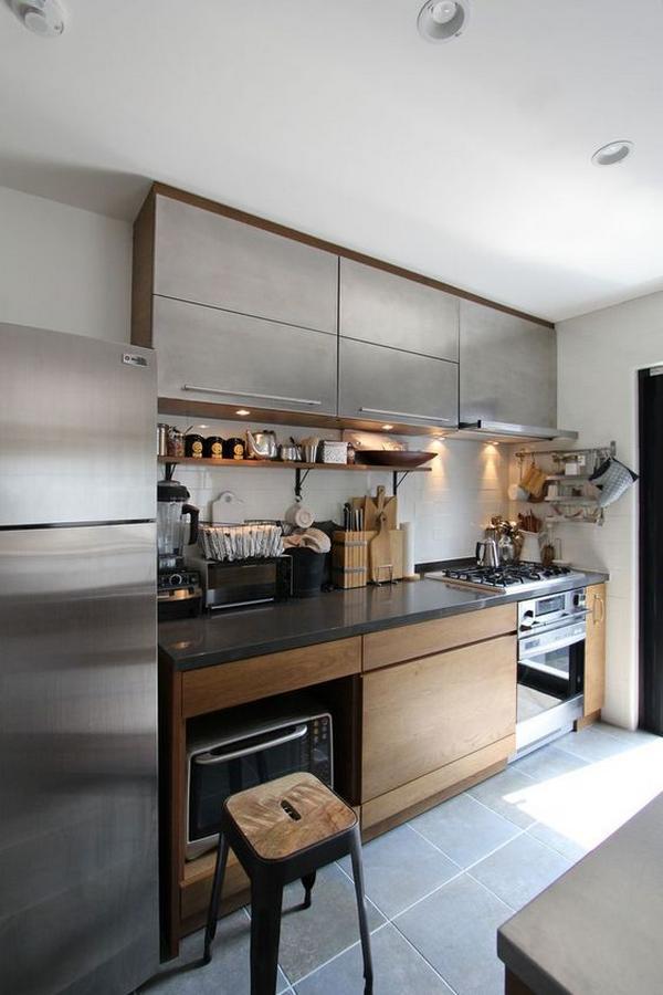 Мебель для кухни из дерева фото 4