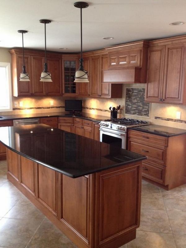 Мебель для кухни из дерева фото 5