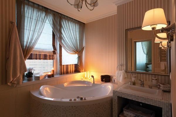 оконная штора для ванной, фото 1