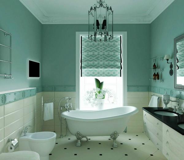 оконная штора для ванной, фото 4