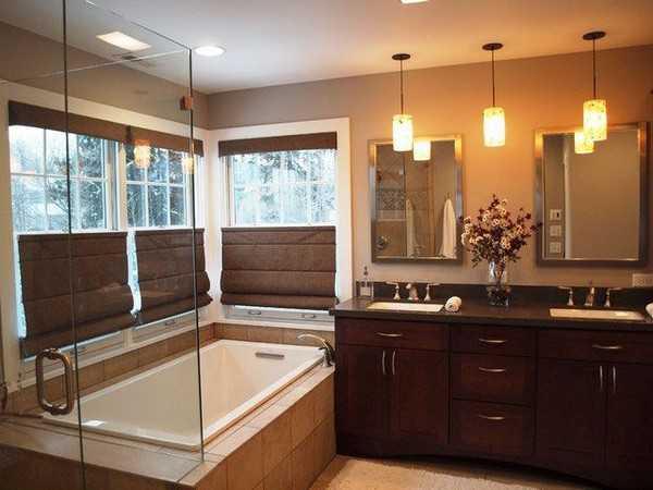 оконная штора для ванной, фото 5