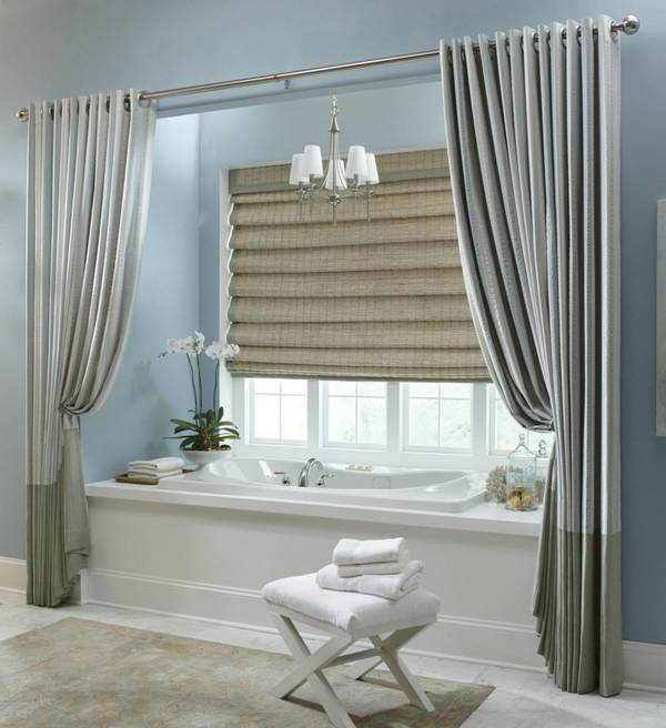 оконная штора для ванной, фото 8