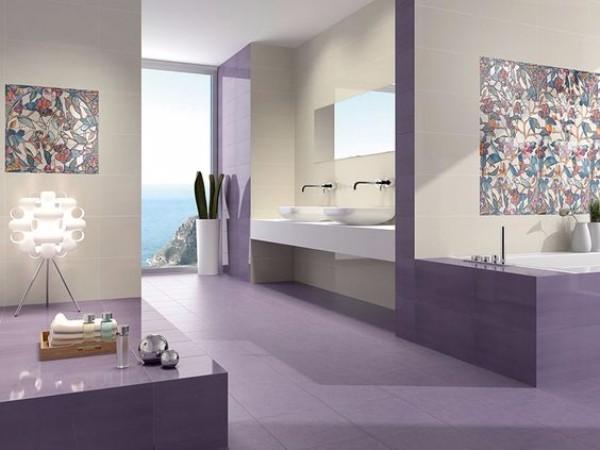 панно из плитки в ванную, фото 14