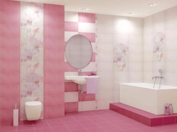 панно из плитки в ванную, фото 10