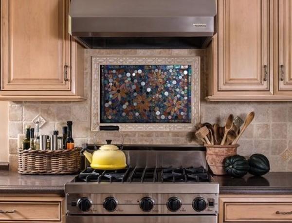 панно из плитки на кухню, фото 20