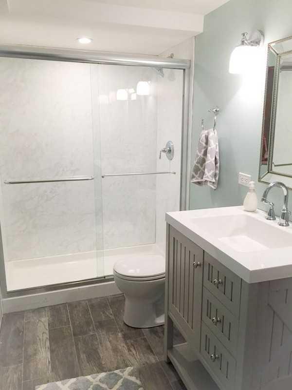 пластиковая штора для ванной, фото 1