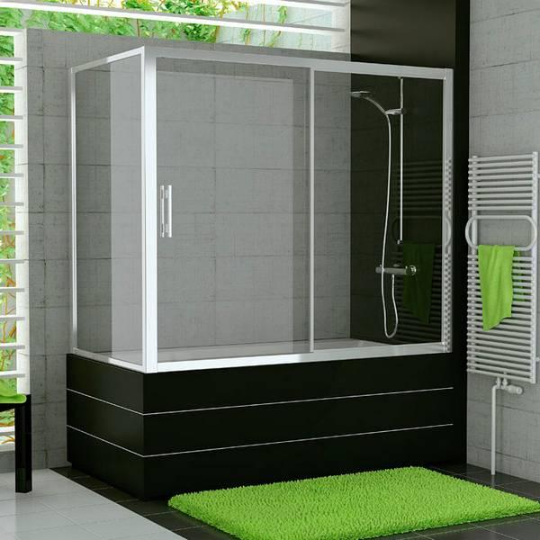пластиковая штора для ванной, фото 4