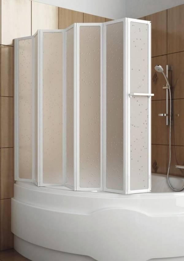 пластиковая штора для ванной, фото 5