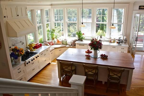 Ремонт кухни в частном доме своими руками фото 1