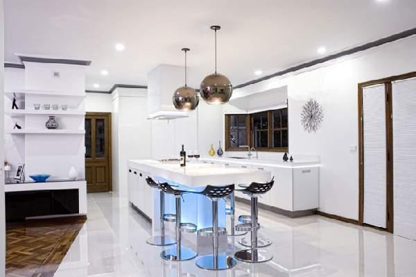 Цветовая гамма кухни фото 1