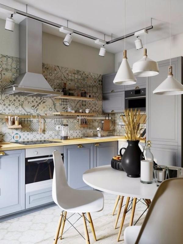 Ремонт стен кухни своими руками фото 10