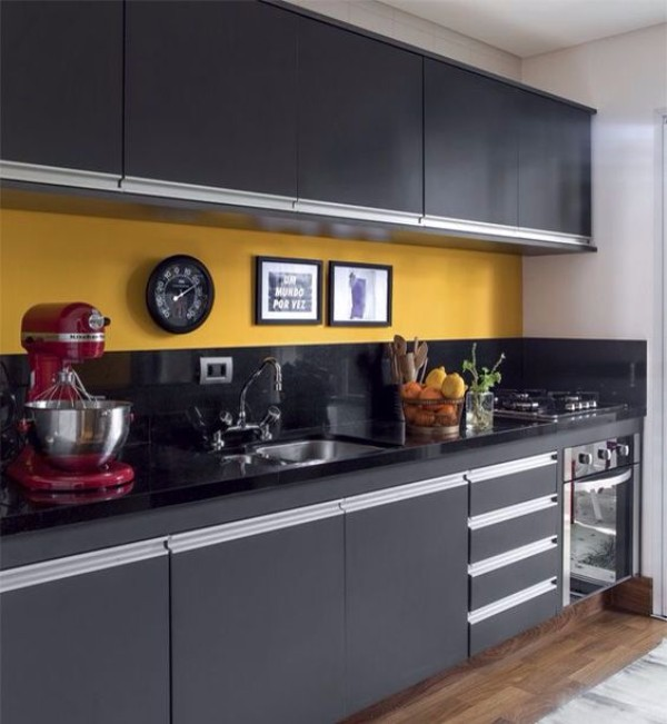 Цветовая гамма кухни фото 4