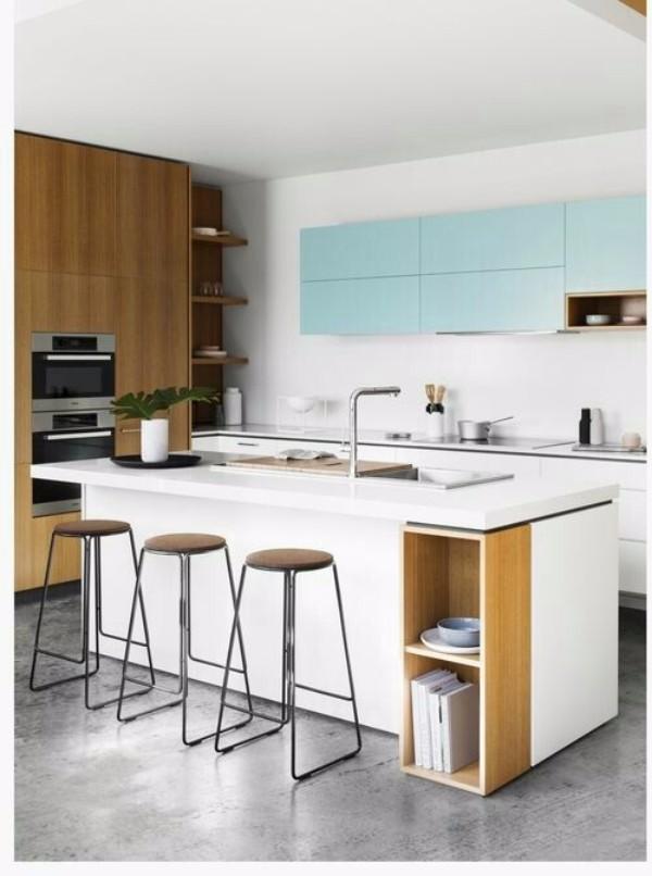 Цветовая гамма кухни фото 3