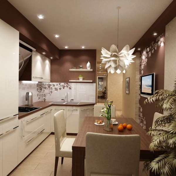 Ремонт кухни своими руками дизайн фото 7