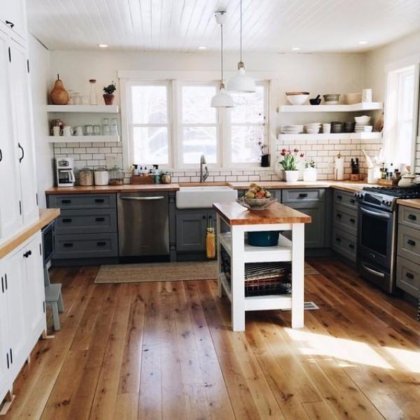 Ремонт кухни в частном доме своими руками фото 4