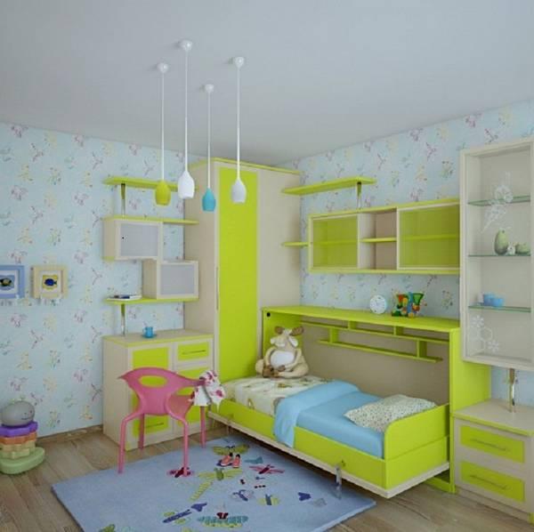 Шкаф кровать в детской, фото 2