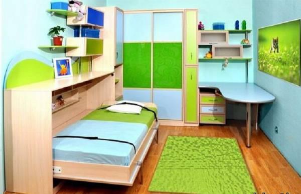 Шкаф кровать в детской, фото 3