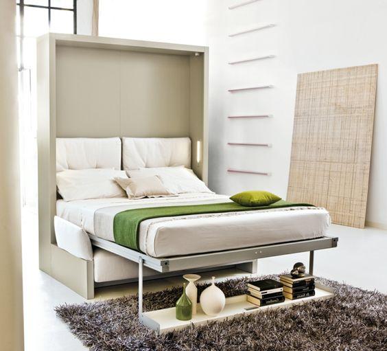Кровать встроенная в шкаф, фото 1