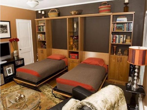 Кровать встроенная в шкаф, фото 2