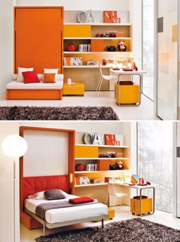 Кровать встроенная в шкаф, фото 4