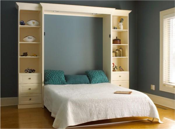 Кровать встроенная в шкаф, фото 6