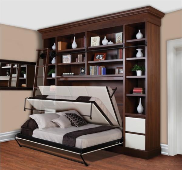 Кровать встроенная в шкаф, фото 3