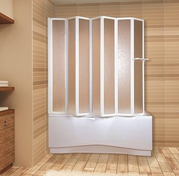 пластиковая штора для ванной, фото 6