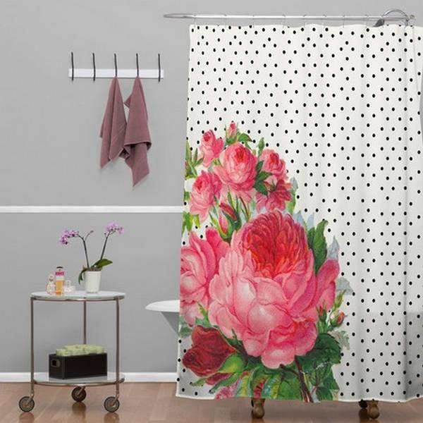 штора для ванной полиэстер, фото 1