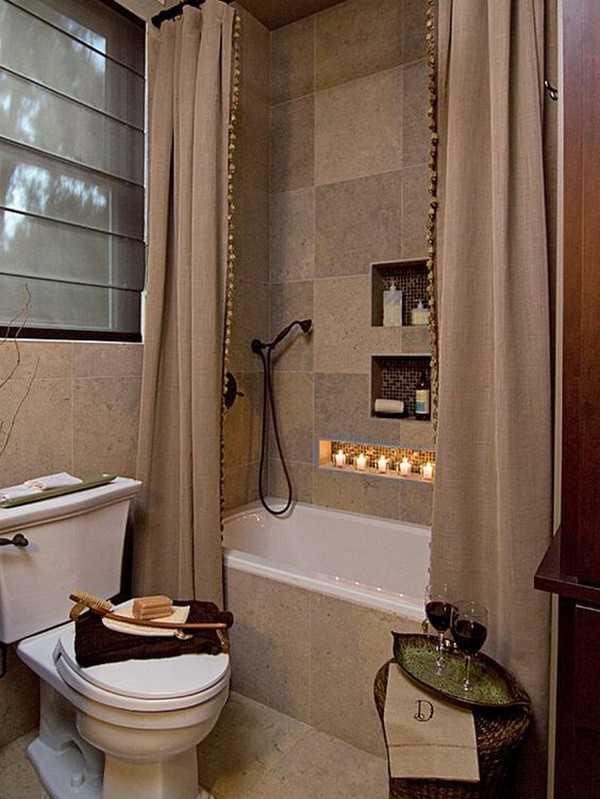 штора для ванной тканевая, фото 2