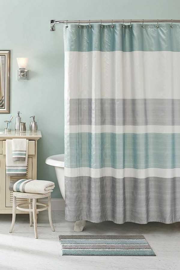 штора для ванной тканевая, фото 3