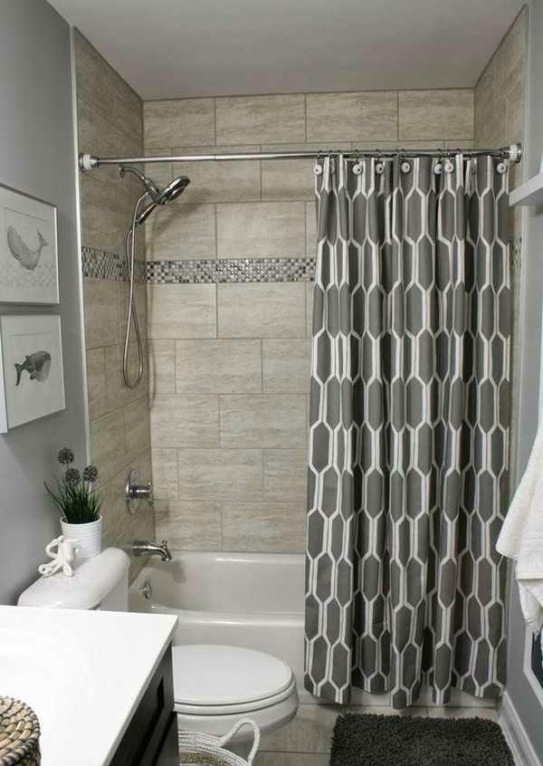 штора для ванной тканевая, фото 5
