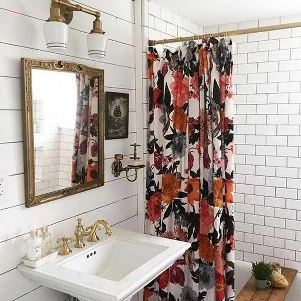 штора для ванной тканевая, фото 6