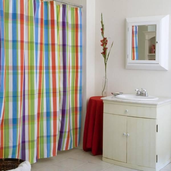 штора для ванной тканевая, фото 1