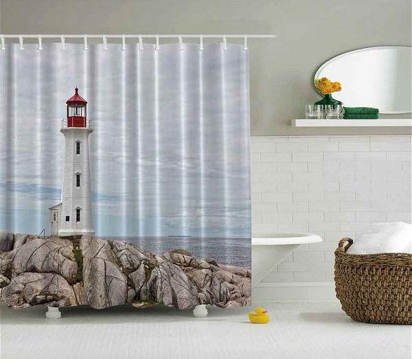штора для ванной комнаты, фото 4