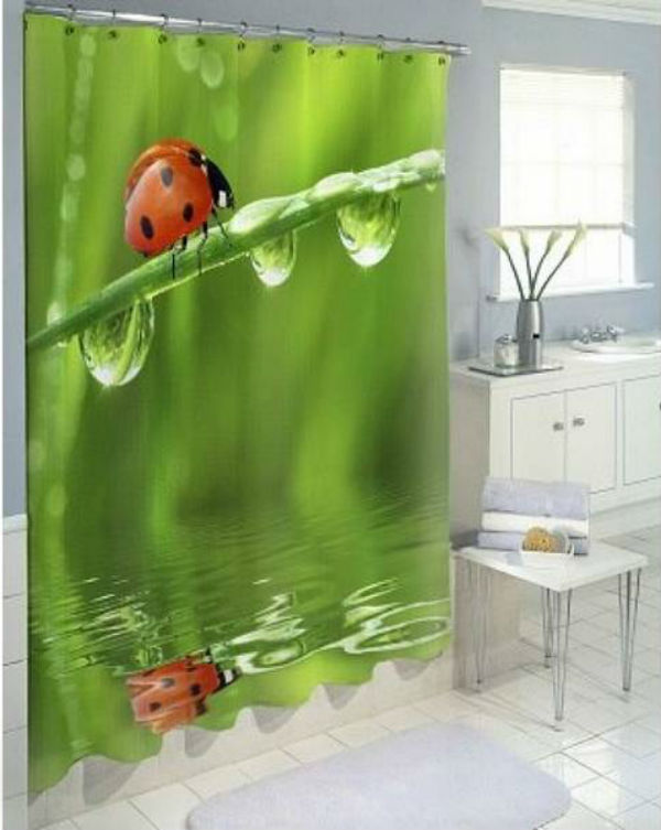 штора для ванной комнаты, фото 6