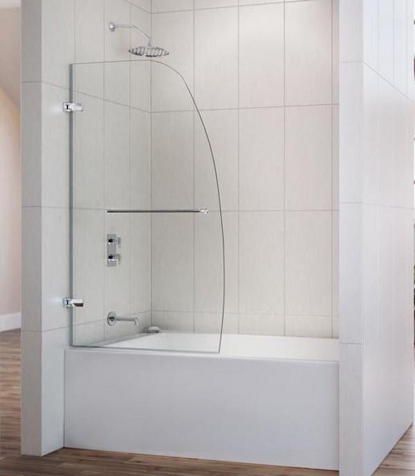 стеклянная штора для ванной, фото 1