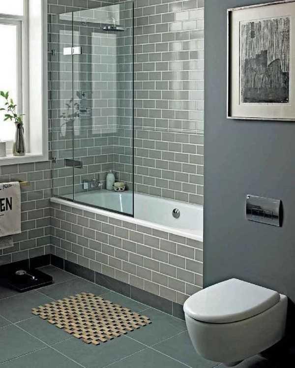 стеклянная штора для ванной, фото 2