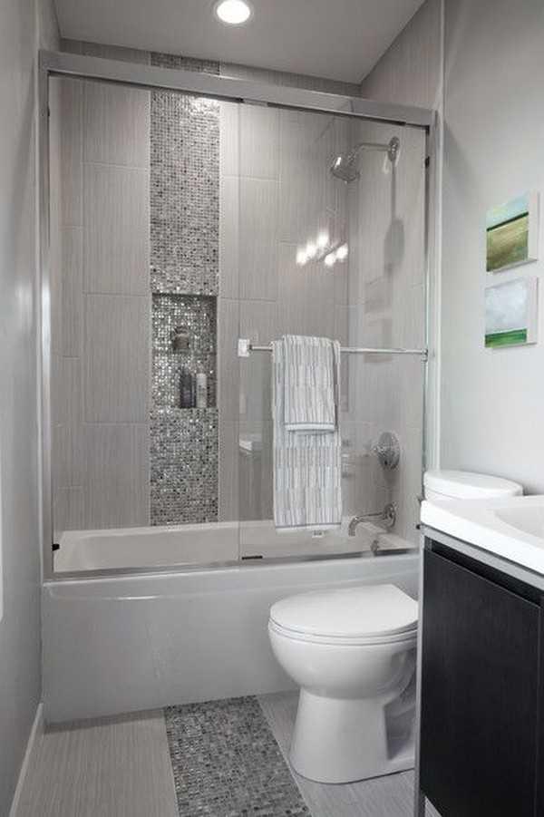 стеклянная штора для ванной, фото 3