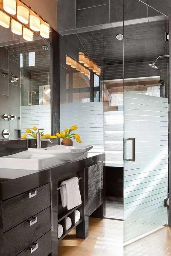 стеклянная штора для ванной, фото 5