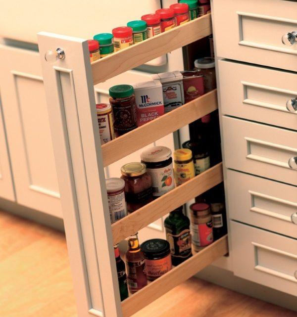 тонкая бутылочница для кухни