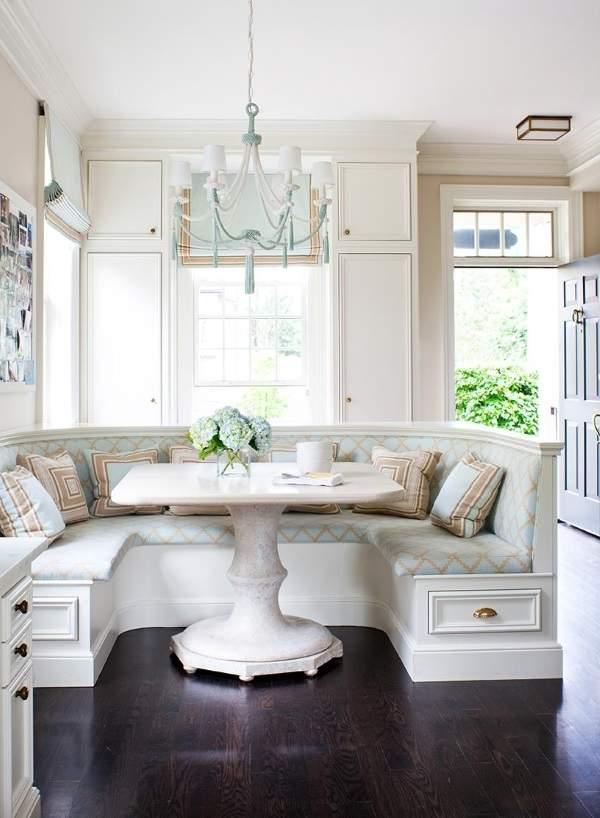 угловой диван раскладной на кухню