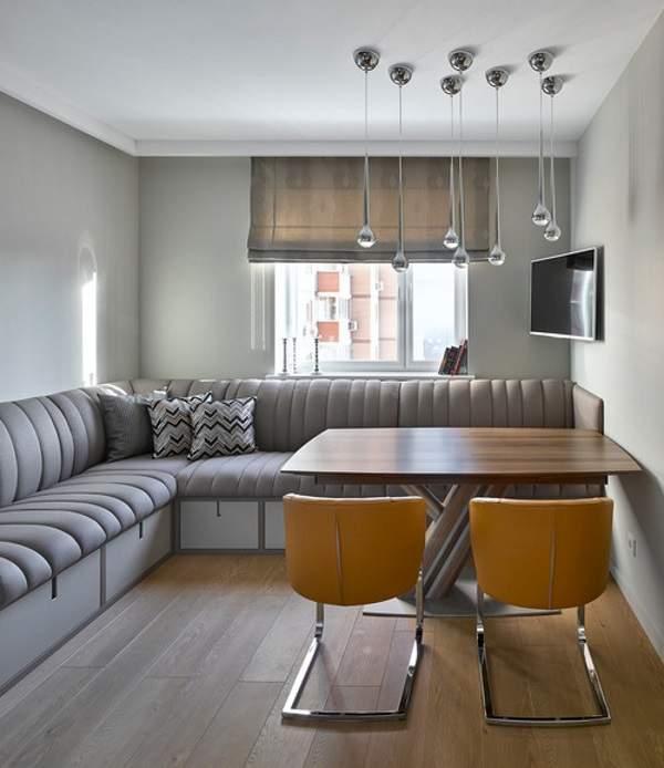угловой диван спальный на кухню