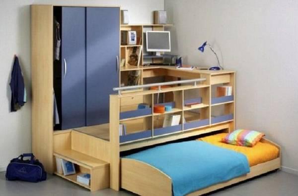 Шкаф кровать в детской, фото 7
