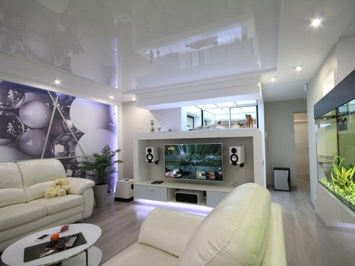 интерьеры однокомнатных квартир в современном стиле фото, фото 10