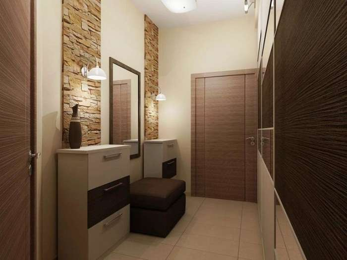 дизайн типовой двухкомнатной квартиры, фото 5