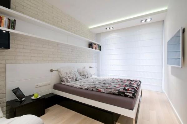 потолок в спальне, фото 46