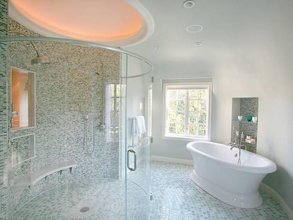 ванная комната в частном доме, фото 11