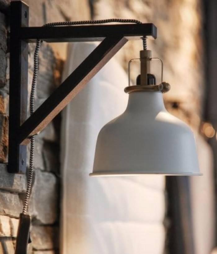 декоративное освещение загородного дома, фото 4